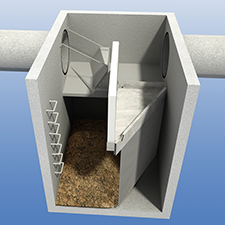 HumeGard® Gross pollutant trap