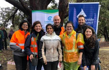 Tree Planting Challenge winners Brisbane and Perth