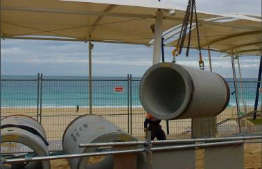 Case study – Scarborough Beach stormwater upgrade, Western Australia