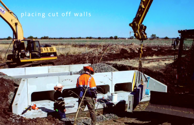 Precast concrete solution for a timber bridge replacement – Emerald, Queensland