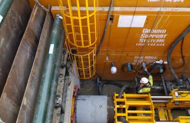 Scarborough Beach, Perth - Trenchless technology with jacking pipes