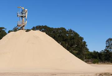 Salt Ash Sand Quarry, Salt Ash, NSW