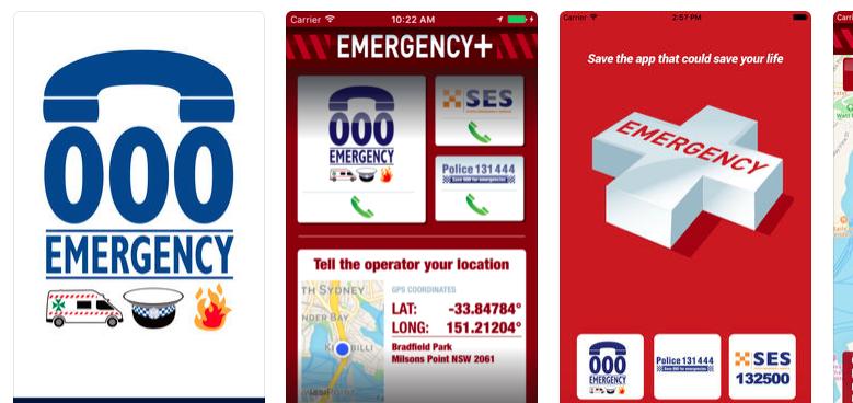 au emergency app