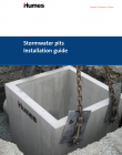 hu stormwater pits installation guide cover
